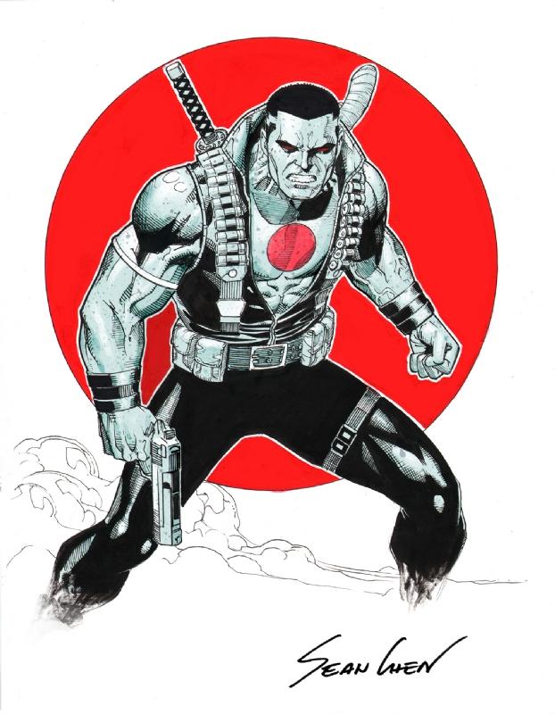 Bloodshot Comic Art