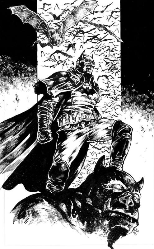 Batman Gotham Gaslight In Donny Gandakusuma S Batman Comic Art Gallery Room