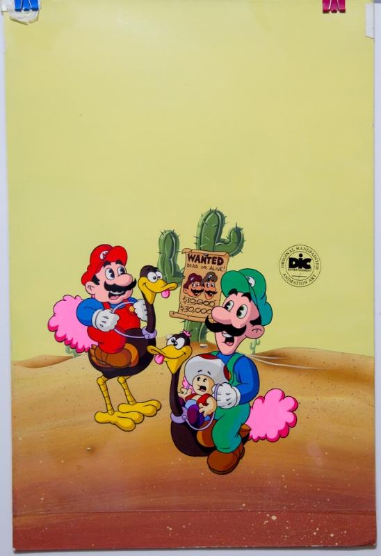 The Super Mario Bros Super Show Butch Mario And The Luigi Kid