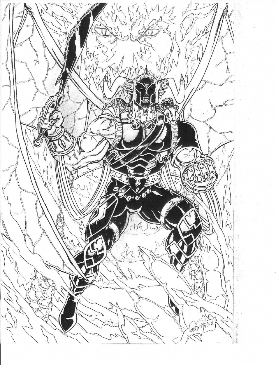 Balera In Dragon Armor In Gary Smith S Gary Smith Pencils And Inks Comic Art Gallery Room Dragon artwork creature art mythical creatures art dragon anatomy fantasy beasts magical creatures drake dragon types of dragons creature drawings. gary smith pencils and inks comic art