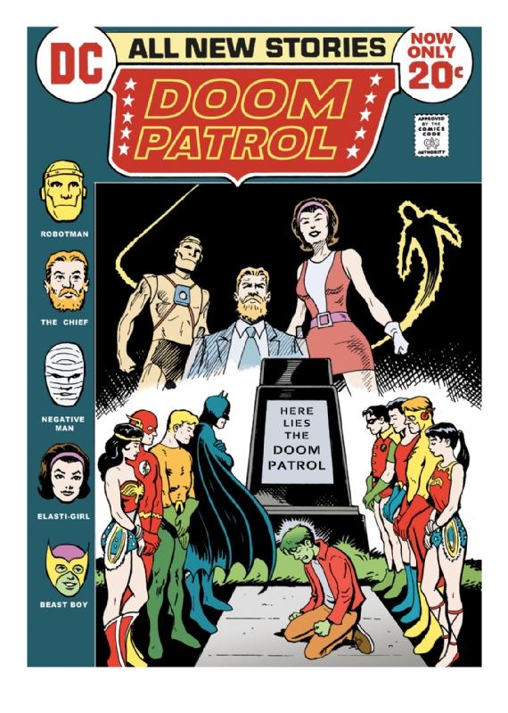Jla 100 Doom Patrol Commission Art In Bert Simmons S