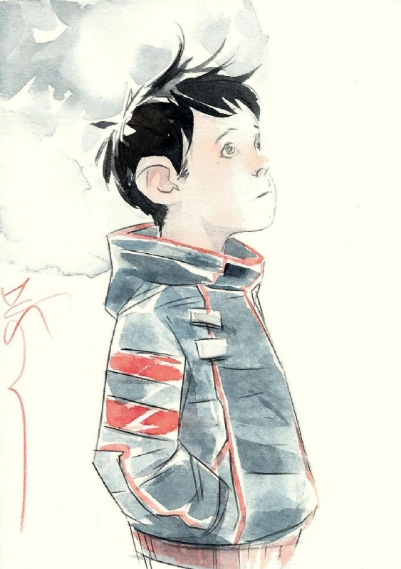 Tim-21 - Descender (Dustin Nguyen), in Geoff Kidwell's Dustin Nguyen Comic  Art Gallery Room