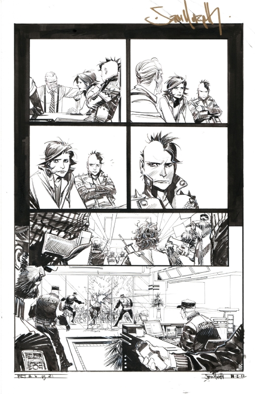 Punk Rock Jesus by Sean Gordon Murphy Issue 6 page 21 Comic Art