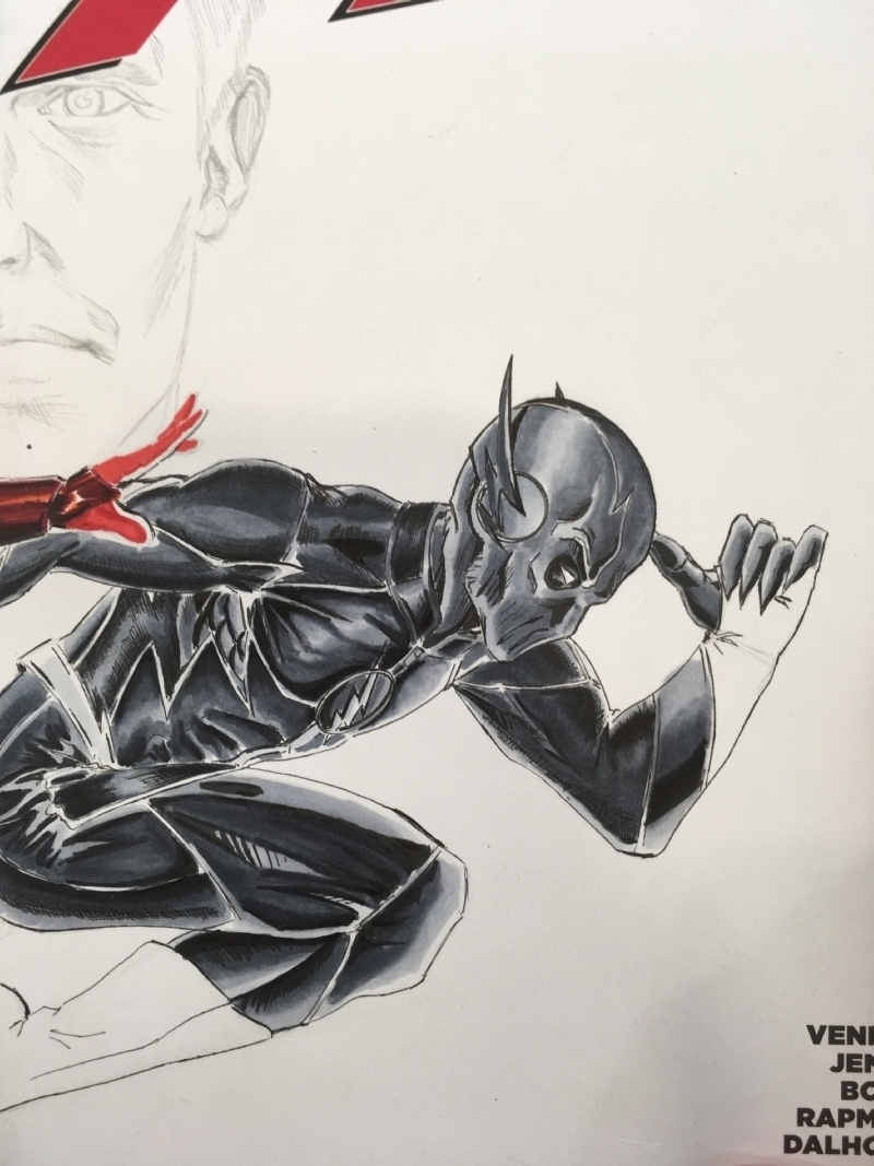 The Flash 39 Sketch Cover The Flash Vs Zoom Part 05 In Jason