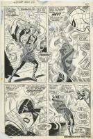 AMAZING SPIDER-MAN #62 PAGE 18 ( 1968, JOHN ROMITA AND DON HECK ) SPIDER-MAN VS. MEDUSA OF THE INHUMANS ) Comic Art