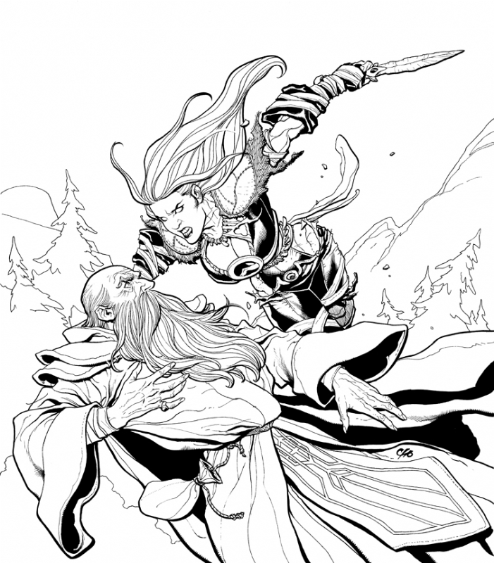 World Of Warcraft Woman 1 In Frank Cho S Non Marvel Dc Art