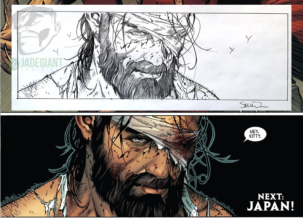 Death of Wolverine issue 2 page 20 by Steve McNiven Comic Art