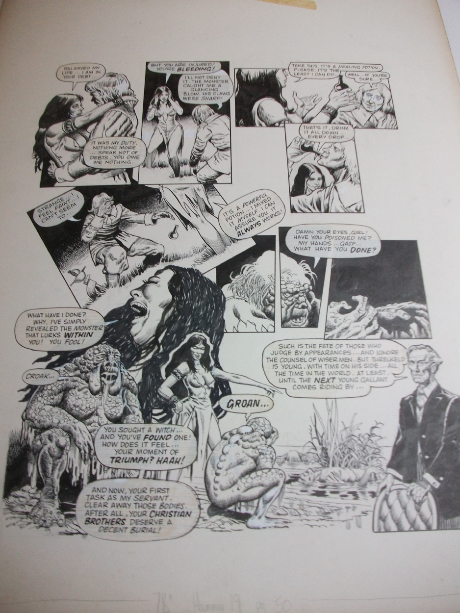 The House Of Hammer van helsings terror tale pg 50 house of hammer issue 19, in