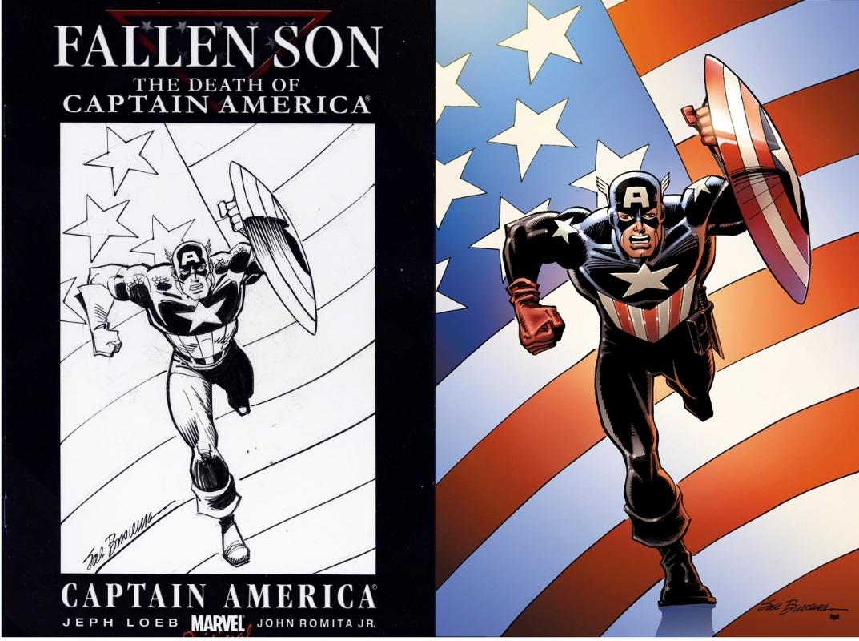 Captain America #44  Buscema Variant Cover