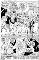 Justice League of America #209, pg 23 Comic Art