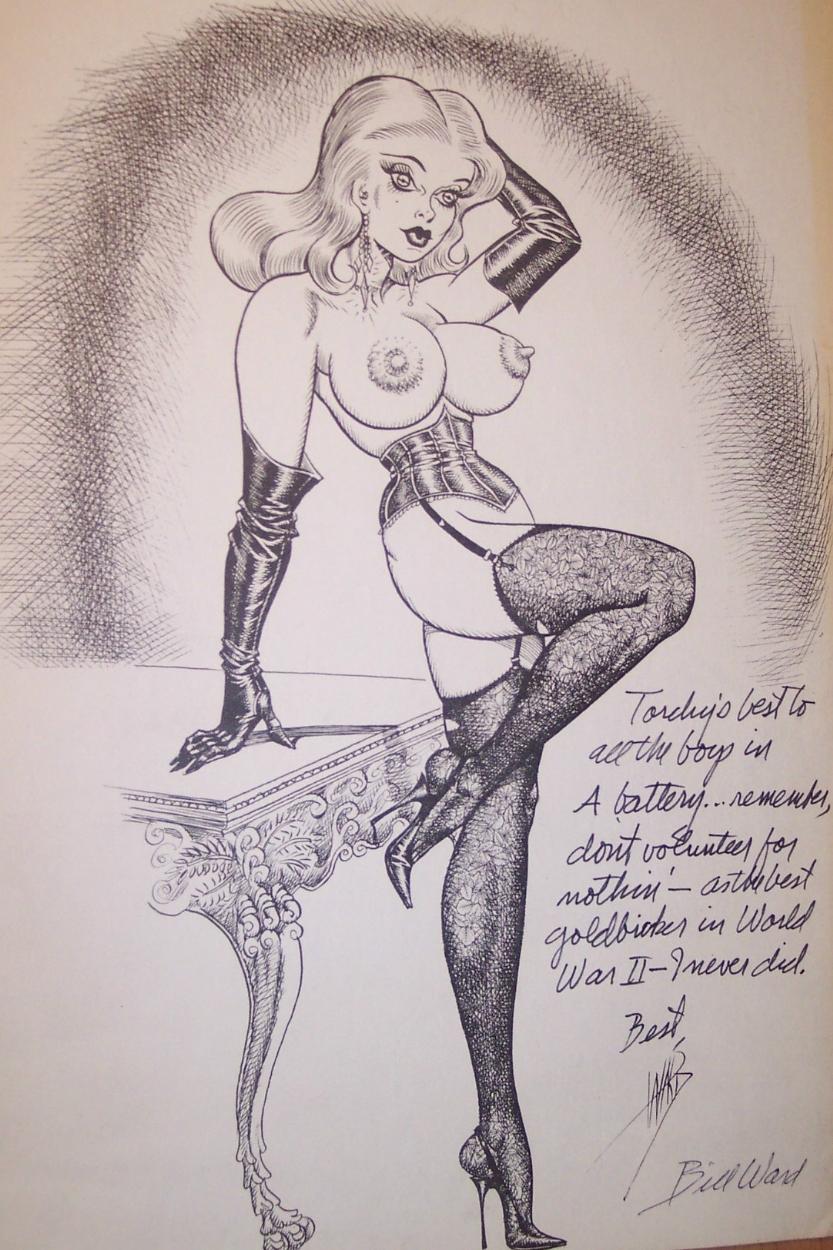 Bill Ward Torchy (Nude Alert), in Frank Brockel's Bill Ward Comic Art  Gallery Room