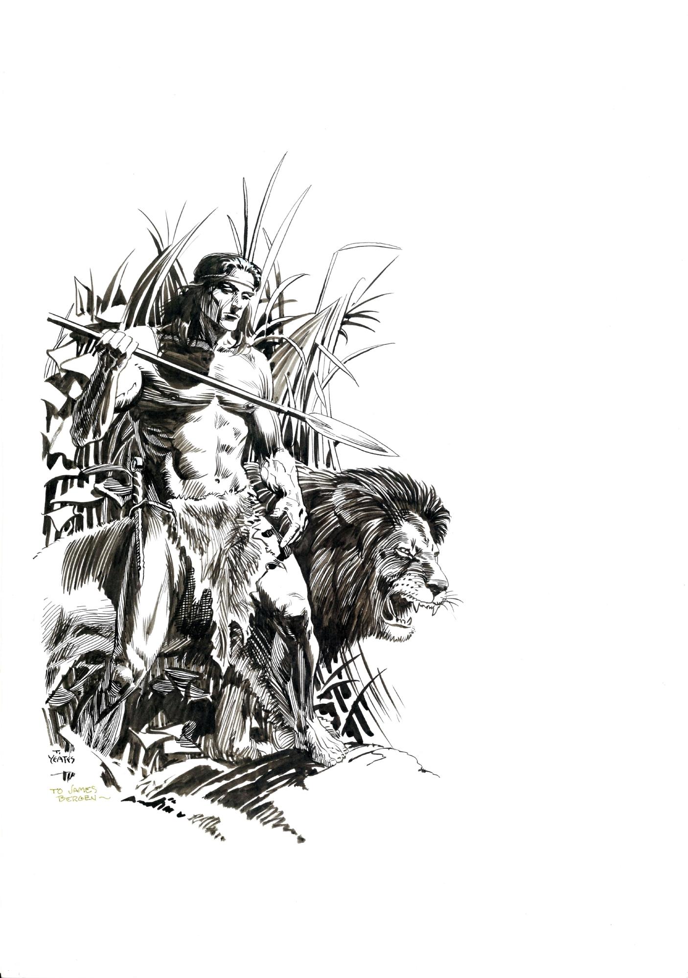 Tarzan The Lost Adventure Dark Horse 1995 Page 29 Illustration In Roland Lim S Interiors Illustrations Comic Art Gallery Room