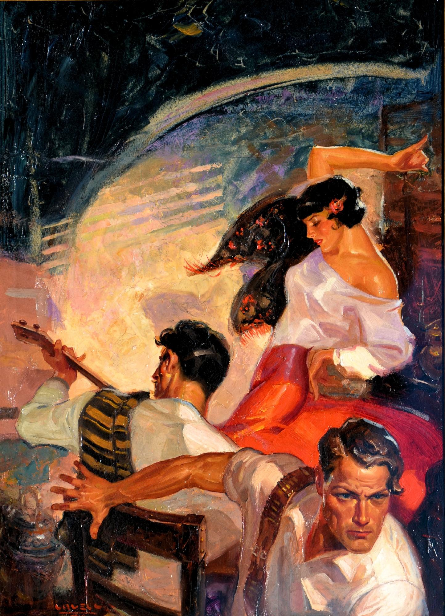 Tom Lovell Complete Stories Pulp November 5 1934 In Doug Ellis S Tom Lovell Comic Art Gallery Room