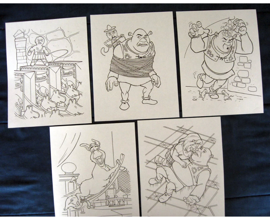 Free Shrek 3 Coloring Pages, Download Free Clip Art, Free Clip Art ... | 916x1125