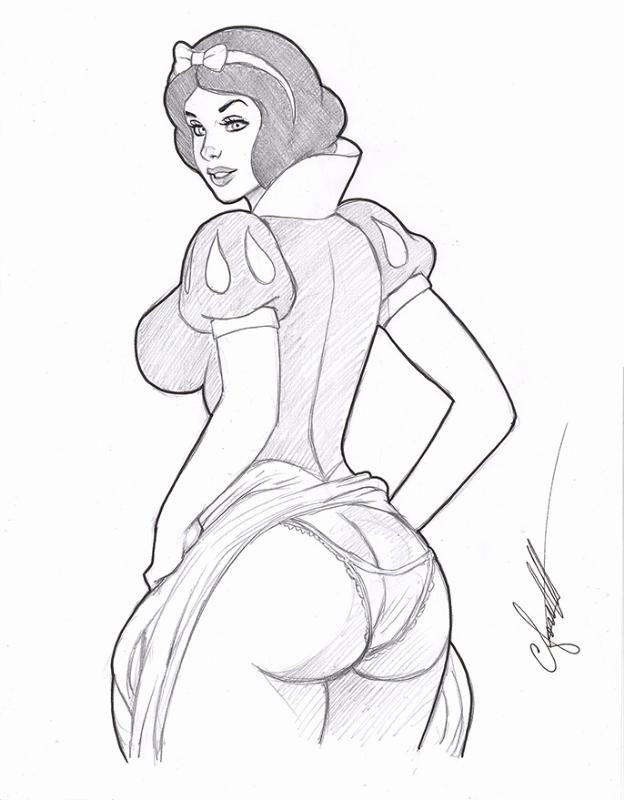 Snow White Ass