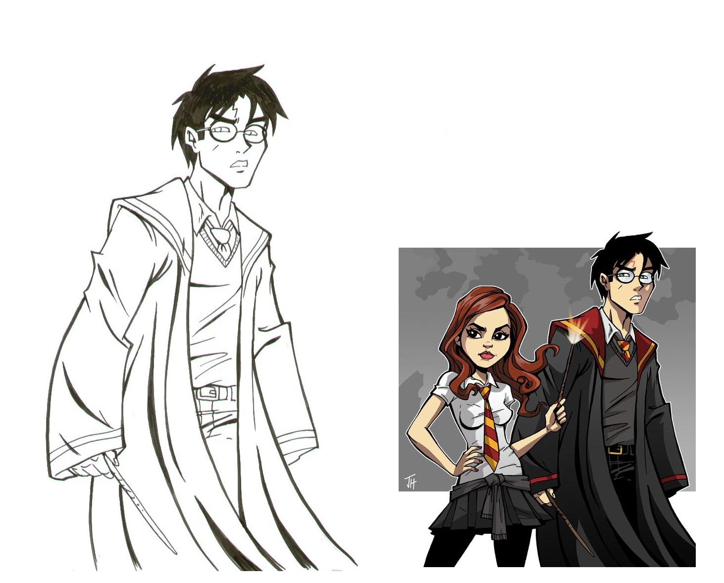 Harry Potter Josh Howard In Laura Mc S Misc Movies Tv Comic Art Gallery Room Biografia filmografia critica premi articoli e news trailer. comic art fans