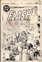 The Flash #294 Cover (DC Comics 1981) by Don Heck and Dick Giordano Comic Art
