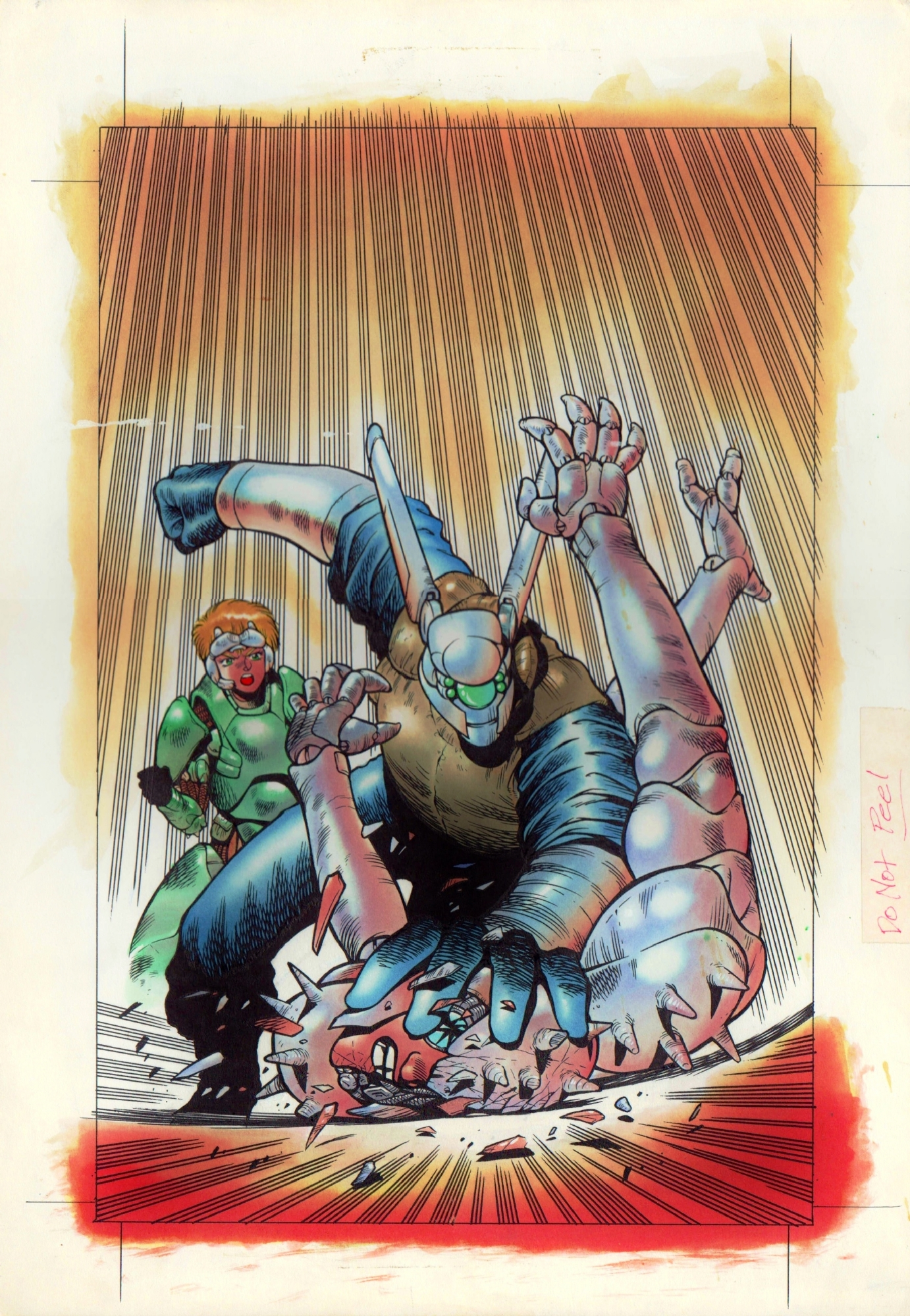 Appleseed Book Three Volume 4 Cover 1990 In James Meeley S Cool Stuff Miscellaneous Comic Art Gallery Room