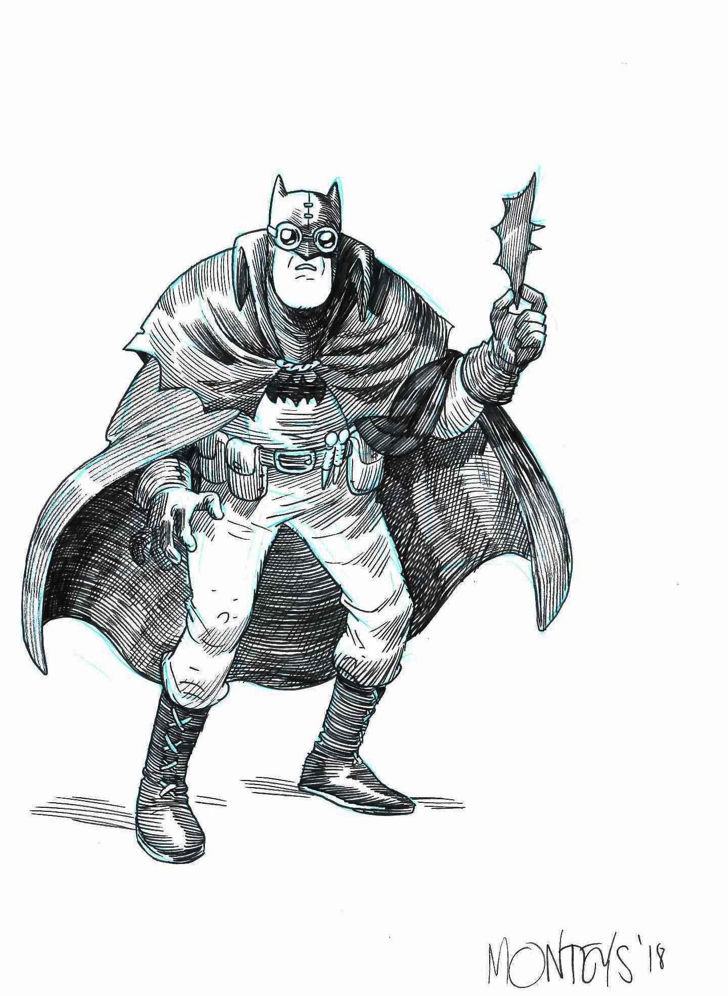 Batman Gotham By Gaslight Or Something Like That In Erfauki D S For Sale Miscelanea Comic Art Gallery Room