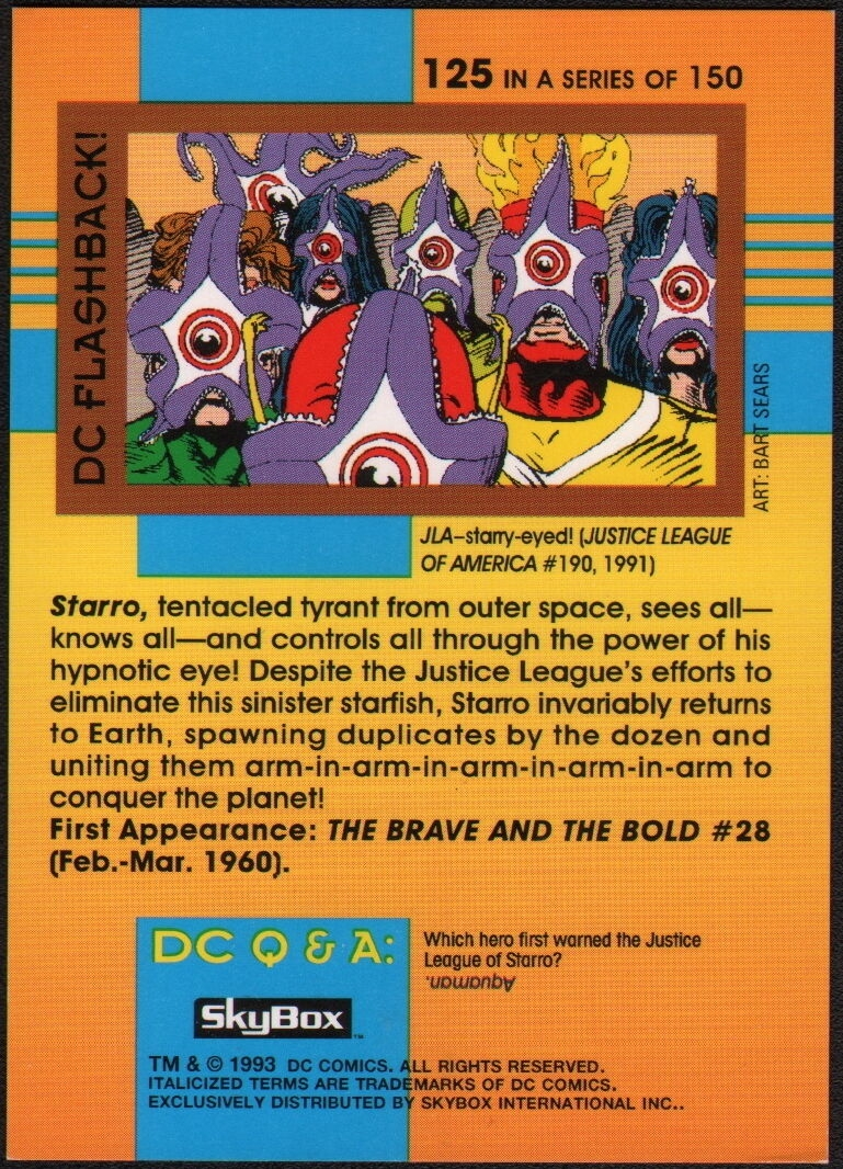 DC Cosmic Teams Trading Cards Pick From List  2 To 53