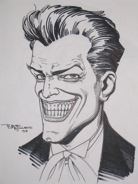 Joker Comic Art