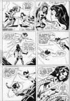 HECK, DON - Wonder Woman #206 page 16  Wonder Woman vs Nubia, Wonder Woman's twin sister Comic Art