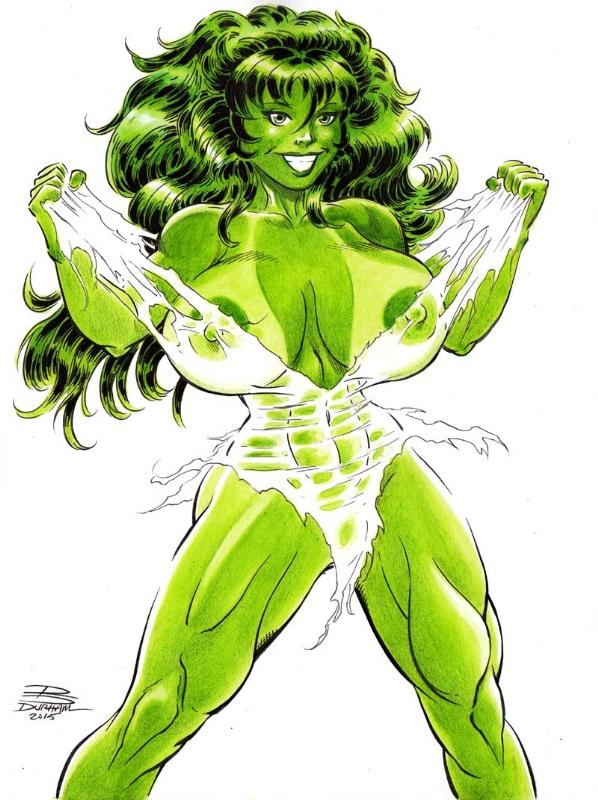 She-Hulk (Nude) - Rob Durham, in Thomas Suhlings XXX