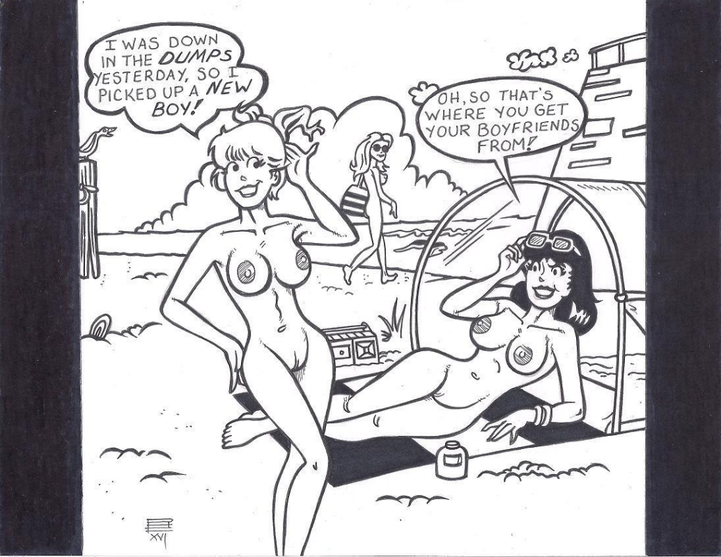 betty veronica nude