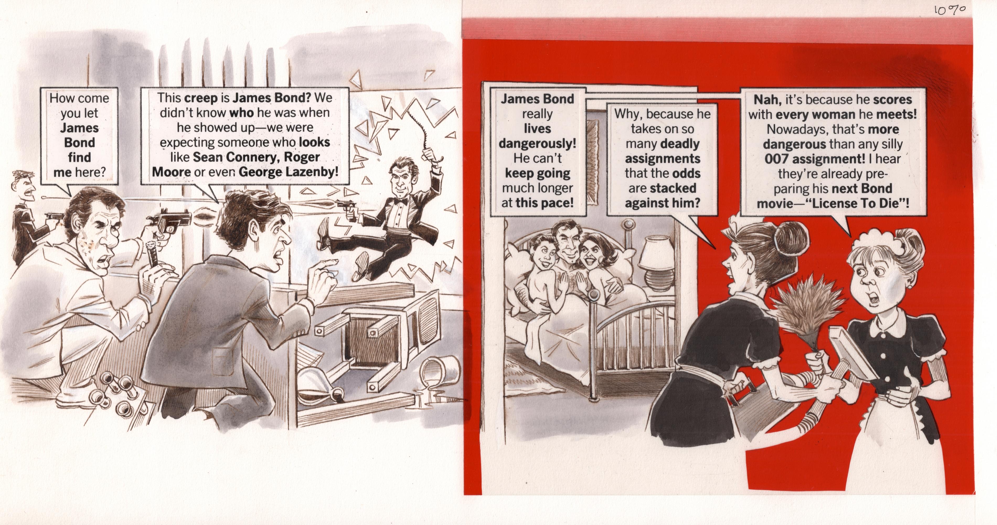 James Bond Licence to Kill Artcards Pack 5 Timothy Dalton Memorabilia Gift Wall Art