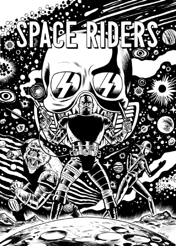 SPACE RIDERS GALAXY OF BRUTALITY 1 FRIED PIE COLOR VARIANT