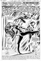 Daredevil #104 Splash Page by Don Heck (Marvel 1973) Comic Art