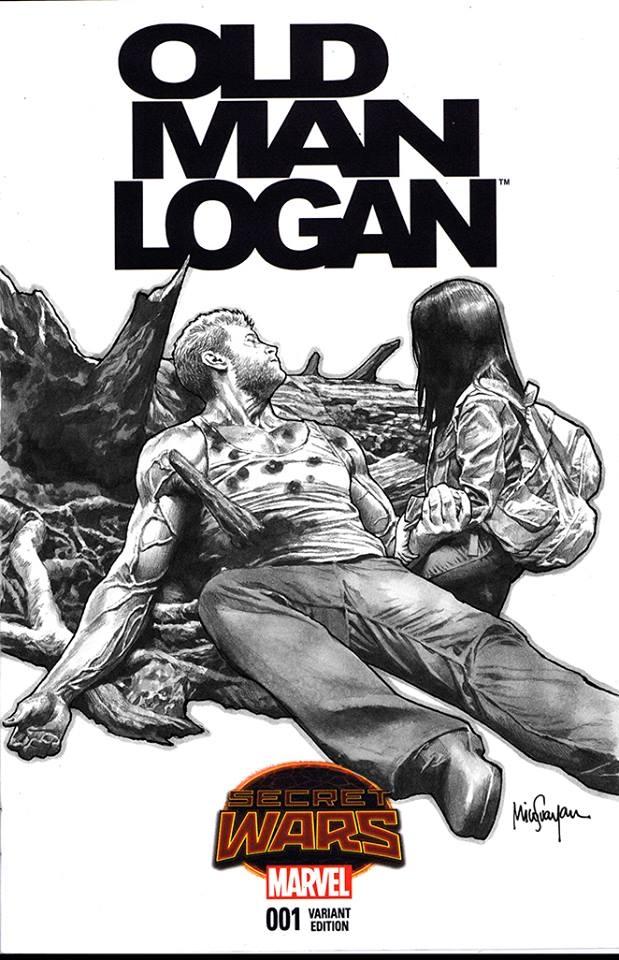 OLD MAN LOGAN #1 STANDARD COVER