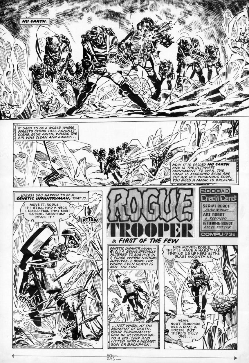 Rogue Trooper | Mars Will Send No More | 1250x858