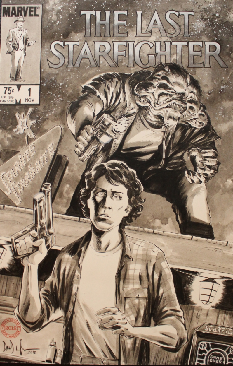 The Last Starfighter By Dave Wachter In Chris Campbell S Commissions Comic Art Gallery Room link star fighter comic and characters by hamletmachine link i love starfighter! the last starfighter by dave wachter