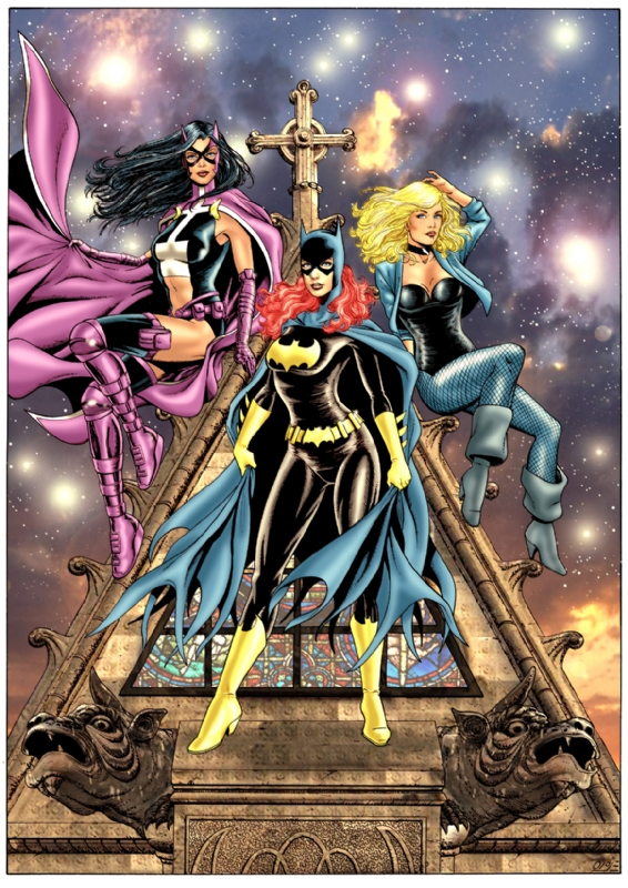 The Birds Of Prey In Mark Dominic S Alex Garacia Art I Have Had Done For Just Me Comic Art Gallery Room