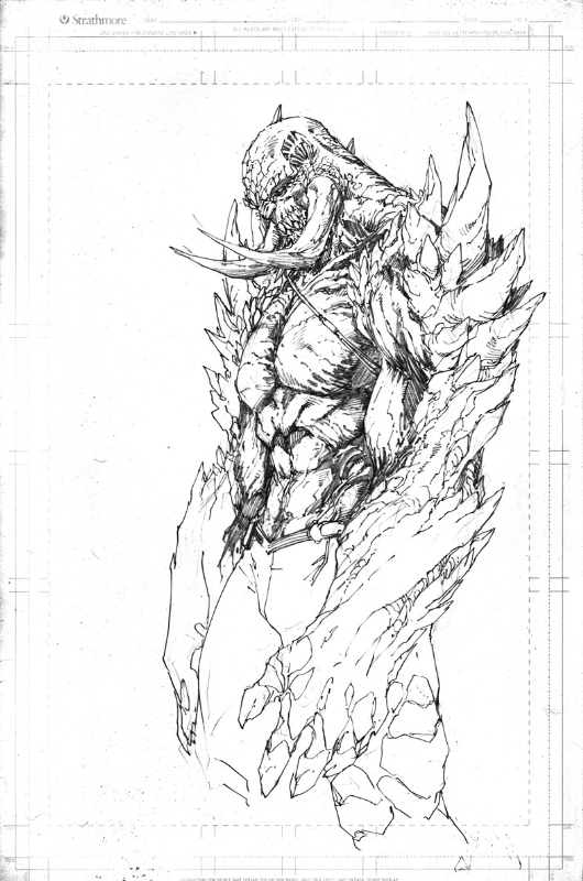 Brett Booth Dc New 52 Concept Doomsday In Fred Crampton S Brett