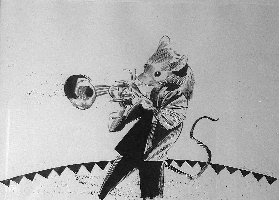 Dave Mckean Coraline Book Illustration In Michele M S Misc Comic Art Gallery Room