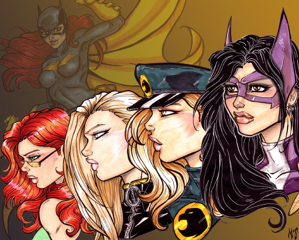 The Birds Of Prey In Matthew Skipworth S Comic Book Heroines Comic Art Gallery Room