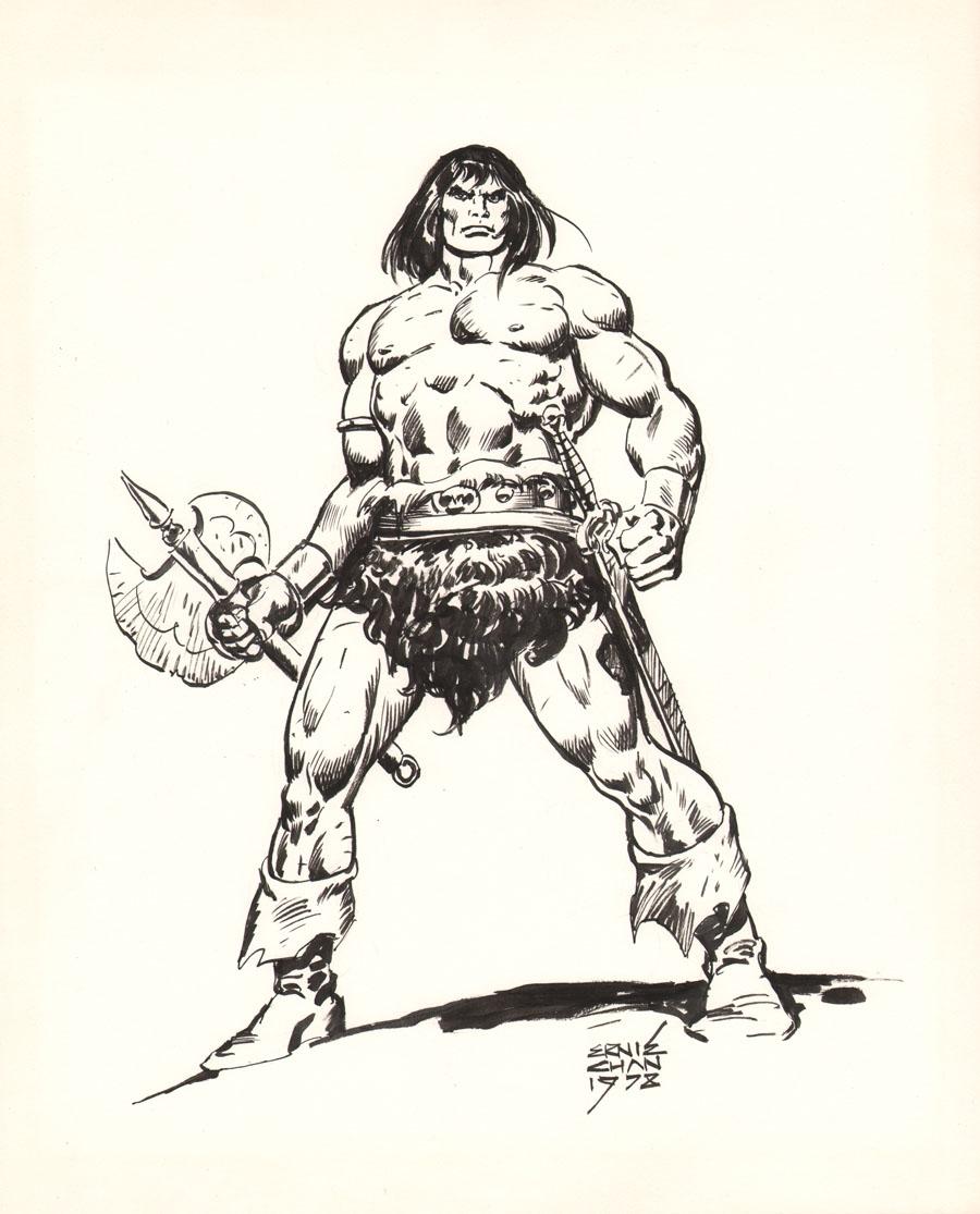 Conan - Ernie Chan 1978, in AK...