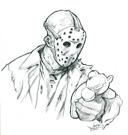 Jason S Memory In Jeff West S Monsters By Jeff West Comic Art
