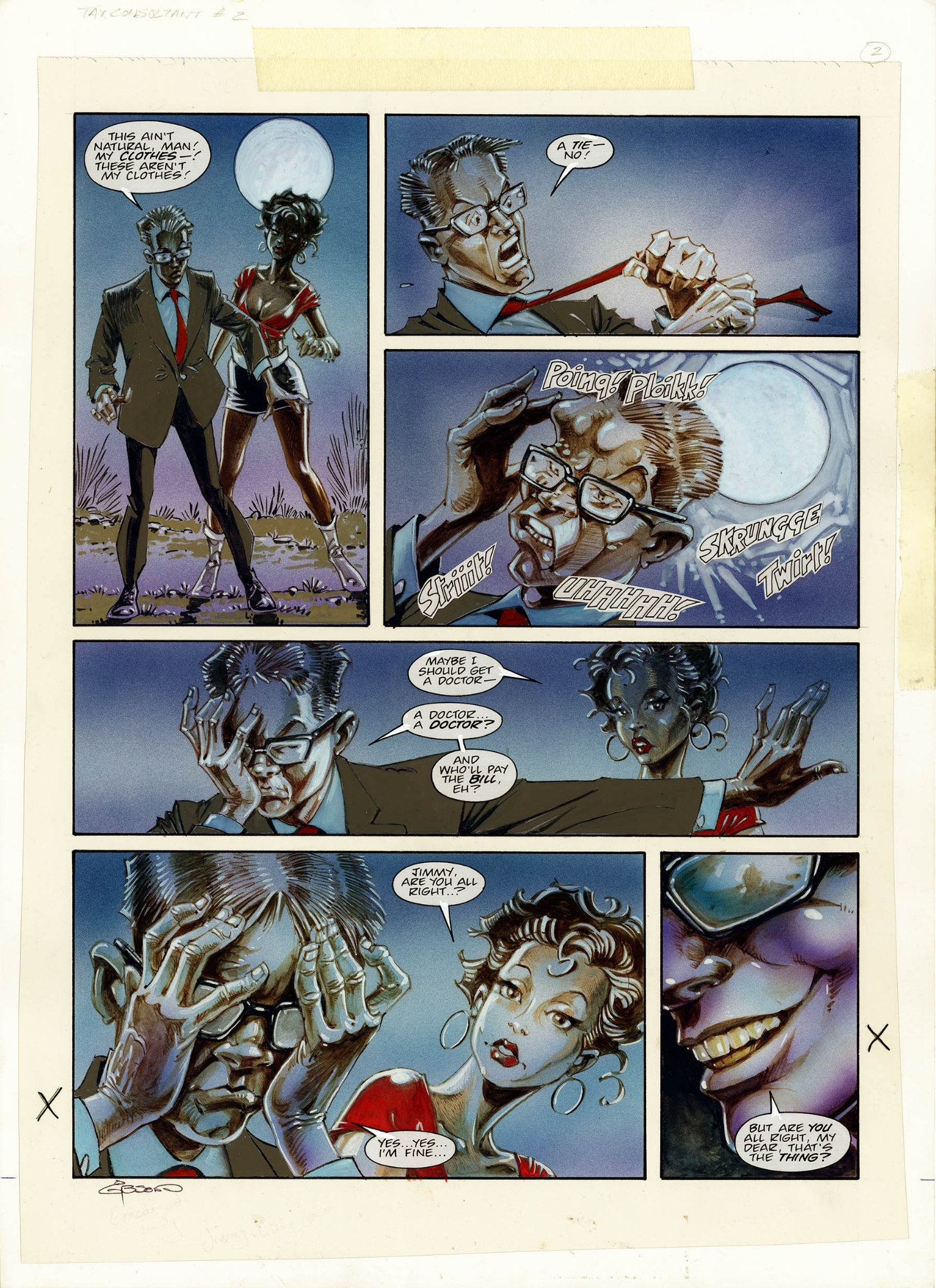2000ad Prog 1051 Page 21 I Was A Teenage Tax Consultant Ian Gibson John Wagner In Artdroids Co Uk Artdroids Co Uk S Ian Gibson Comic Art Gallery Room