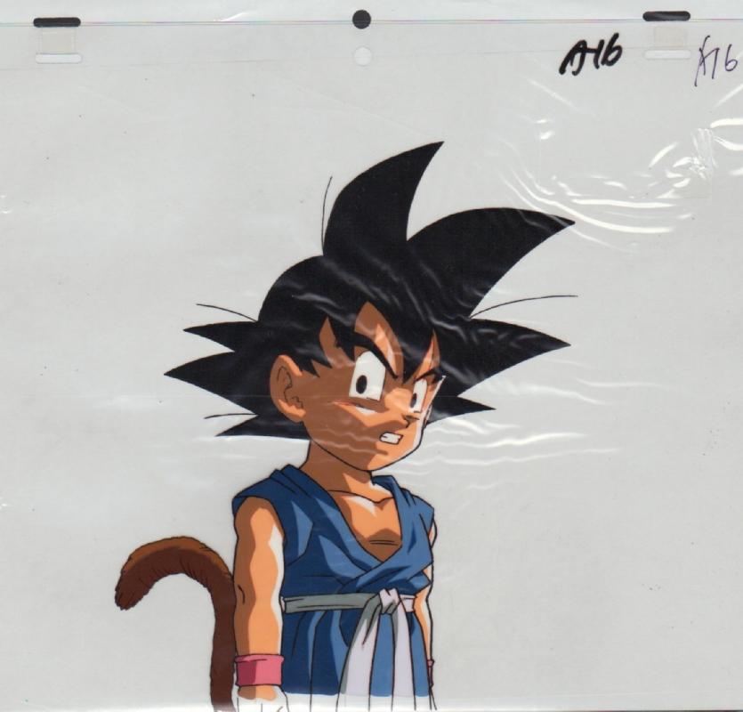 Dragon Ball Gt Acetato Akira Toriyama Studios In Alberto Lopez S Akira Toriyama Studios Comic Art Gallery Room