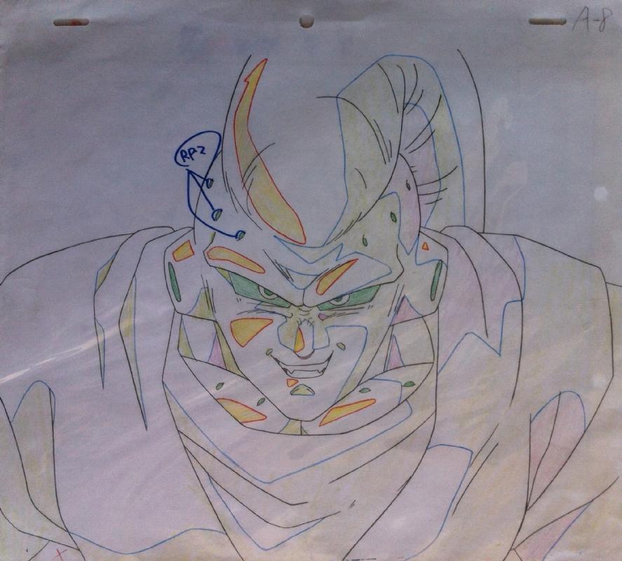 Dragon Ball Z Super Bu Doga Akira Toriyama Studios In Alberto Lopez S Akira Toriyama Studios Comic Art Gallery Room