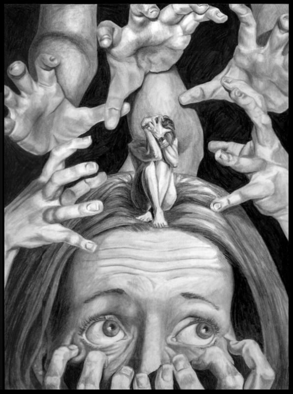 Anxiety By Corsetto In Steven Regina S Artist Danielle Corsetto Comic Art Gallery Room