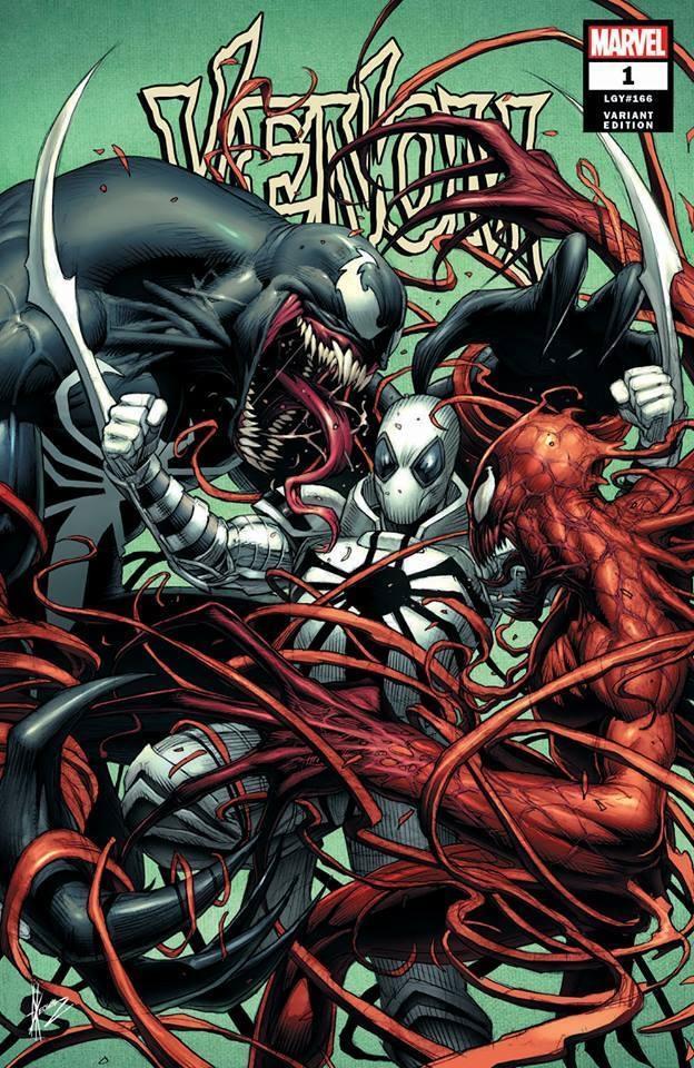 Marvel Anti Venom Vs Venom