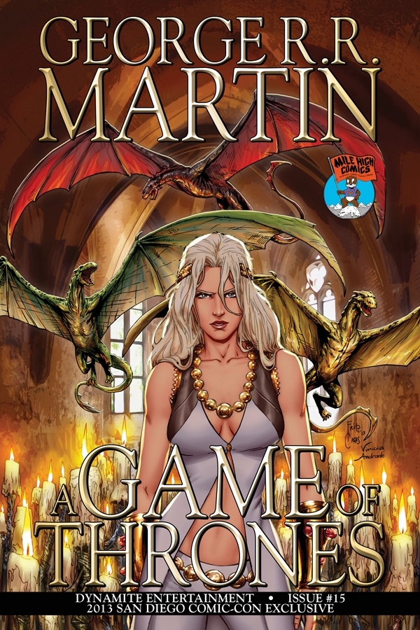Game of Thrones 15 Mile High Variant cover, in Miki