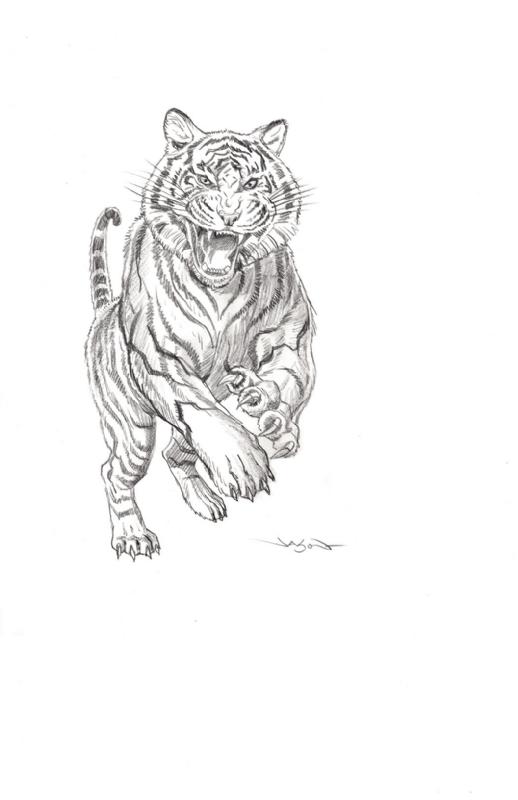 The Walking Dead Shiva Force Shiva Sketch In Shawn Kirkham S The