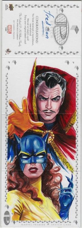 Doctor Strange Original Sketch Card