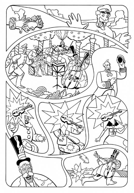 Yellow Submarine Page 11 In Bill Morrison S Beatles Yellow Submarine Graphic Novel Comic Art Gallery Room