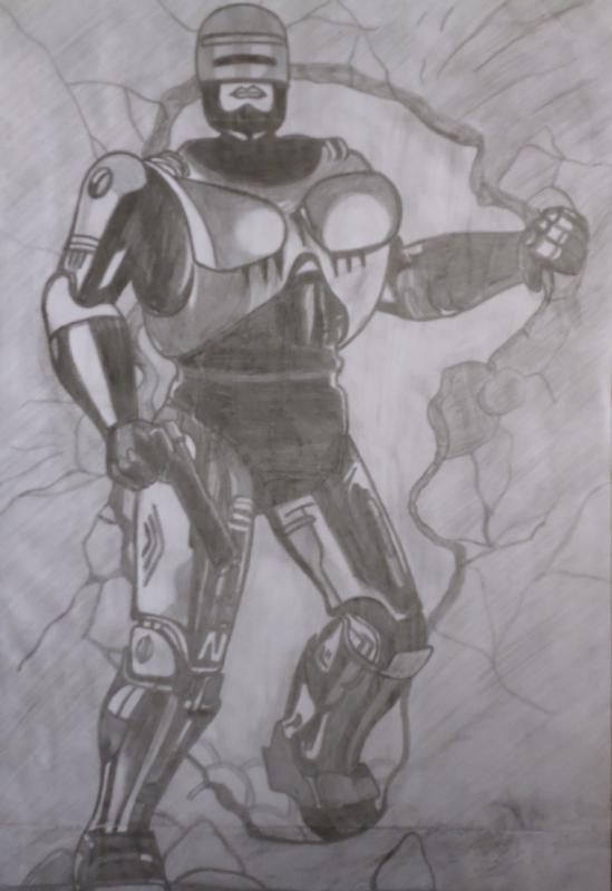 Robocop In Saulo Yuri S Syos Arts Desenhos Comic Art Gallery Room